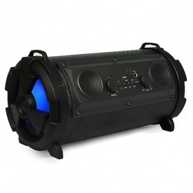 Rojem Outdoor Portable Bluetooth Speaker Subwoofer with Mic - HBPC1602 - Black