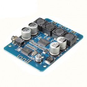 Topping Amplifier - DIY Bluetooth Digital Amplifier Board TPA3118 2x30w - Blue