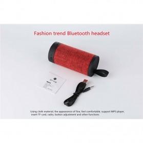Wireless Bluetooth Speaker Fabric - Black - 2