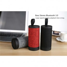 Wireless Bluetooth Speaker Fabric - Black - 4
