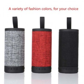 Wireless Bluetooth Speaker Fabric - Black - 5