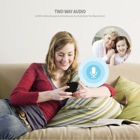 Bohlam LED RGB E27 dengan Bluetooth Speaker & CCTV IP Camera 960P - White - 7