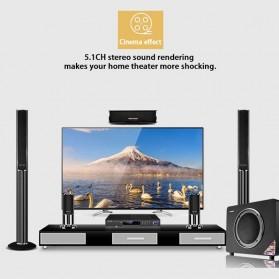 Audio Konverter HDMI Arc ke SPDIF Coaxial RCA 3.5mm AUX - Black - 4