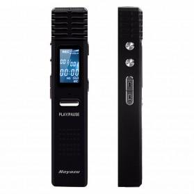 Perekam Suara Digital Voice Recorder MP3 Player 8GB - X1 - Black
