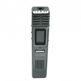 Perekam Suara Digital Voice Recorder MP3 Player 8GB - X1 - Gray