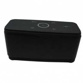 Bluetooth Speaker DSP dengan Touch Key - M12 - Black - 2