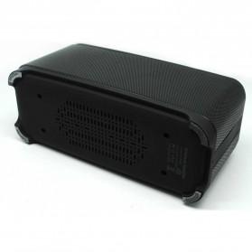 Bluetooth Speaker DSP dengan Touch Key - M12 - Black - 3