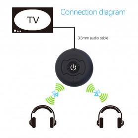 Multi-point Bluetooth Transmitter - H-366T - Black - 3