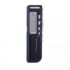 Perekam Suara HD Microphone Digital Voice Recorder 8GB - N10 - Black
