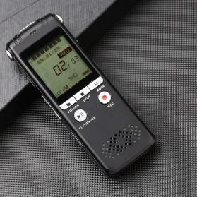 Perekam Suara HD Microphone Digital Voice Recorder 8GB - N131 - Black - 8