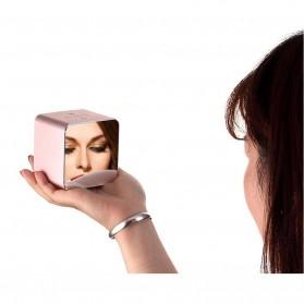 Jam Alarm Mini Clock with Bluetooth Speaker TF Card - V9 - Gray - 5