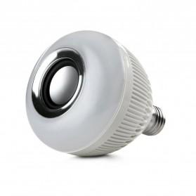 Bohlam LED RGB E27 12W with Bluetooth Speaker - WJ-L2 - White - 3