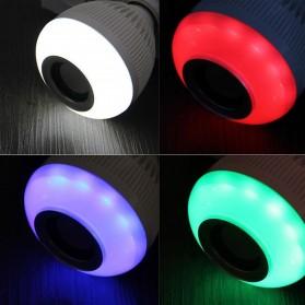 Bohlam LED RGB E27 12W with Bluetooth Speaker - YNL - White - 6