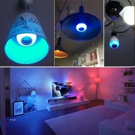 Bohlam LED RGB E27 12W with Bluetooth Speaker - WJ-L2 - White - 9