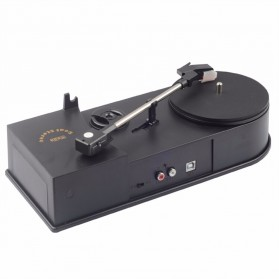 Portable Recorder Turntable Vinyl to Mp3 Player - Black