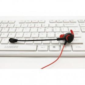 Gaming Earphone HiFi dengan Detachable Mic - G1 - Black - 7