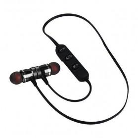 Earphone Bluetooth Sport Magnet dengan Mic - LY11 - Black - 2