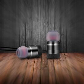 Earphone Bluetooth Sport Magnet dengan Mic - LY11 - Black - 3