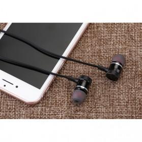 Earphone Bluetooth Sport Magnet dengan Mic - LY11 - Black - 7