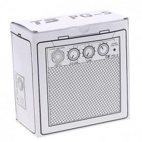 Amplifier Mini Gitar Elektrik Volume Tone Control 5W - PG-5 - Black - 7