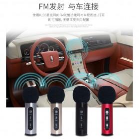 Studio Condenser Microphone FM Transmission - K199-DSP - Black - 3