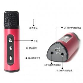Studio Condenser Microphone FM Transmission - K199-DSP - Black - 5
