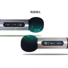 Studio Condenser Microphone FM Transmission - K199-DSP - Black - 8