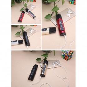 Studio Condenser Microphone FM Transmission - K199-DSP - Black - 10