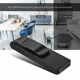 Mini Digital HD Camera Voice Recorder Rotatable Lens 8GB 1080P - E13 - Black - 1