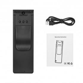 Mini Digital HD Camera Voice Recorder Rotatable Lens 8GB 1080P - E13 - Black - 7