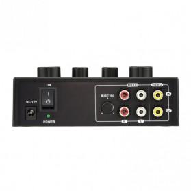 Professional Karaoke Mixer Echo Tone Audio - TD-020 - Black - 3