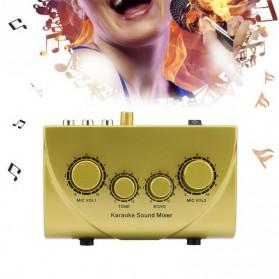Professional Karaoke Mixer Echo Tone Audio - TD-020 - Black - 6