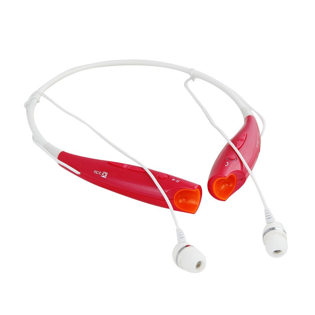bluetooth headset two channel mp3 music headphone hbs 730 red. Black Bedroom Furniture Sets. Home Design Ideas