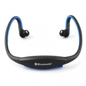 Sports Wireless Bluetooth Headset - BTH-404 - Black/Blue