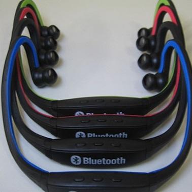 Sports Wireless Bluetooth Headset - BTH-404 - Black/Green - 3 ...