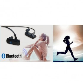 Bluetooth Stereo Headset with Built-in Microphone - BT-252 - Black - 3
