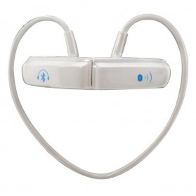 Bluetooth Stereo Headset with Built-in Microphone - BT-252 - White