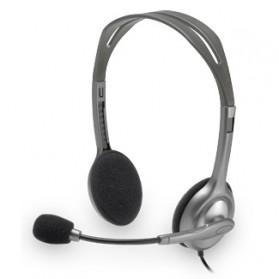 Logitech Stereo Headset - H110 - Black - 3