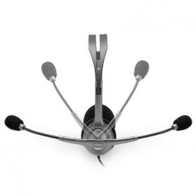 Logitech Stereo Headset - H110 - Black - 4