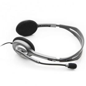 Logitech Stereo Headset - H110 - Black - 5