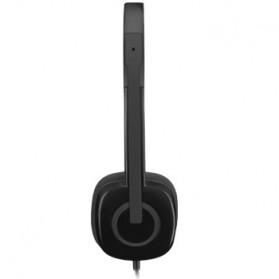 Logitech Stereo Headset - H151 - Black - 3