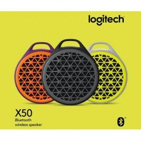 Logitech X50 Mini Bluetooth Mobile Wireless Speaker - Black - 8