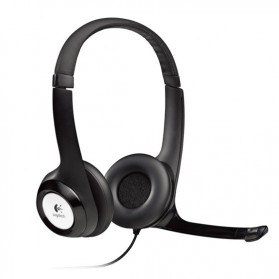Logitech USB Stereo Headset - H390 - Black