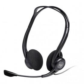 Logitech Stereo Headset - H370 - Black - 2