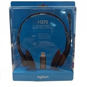 Logitech Stereo Headset - H370 - Black - 5