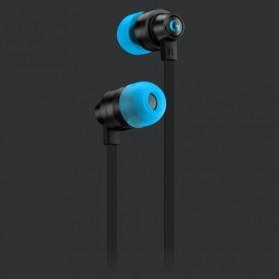 Logitech G333 In Ear Earphone Gaming with Type C Adapter - Black