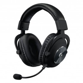 Logitech Pro X Gaming Headset Headphone - Black - 1
