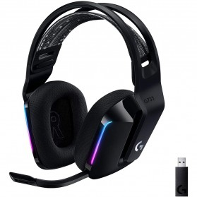 Logitech LIGHTSPEED Wireless RGB 7.1 Surround Gaming Headset - G733 - Black