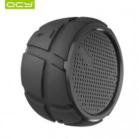 QCY BOX2 Bluetooth Speaker Waterproof with Carabiner - Black - 2