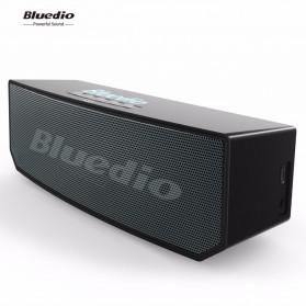 Bluedio BS-6 Bluetooth Speaker v5.0 Smart Cloud Voice Control - Black - 5